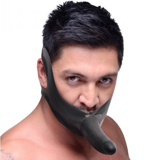 Face Strap On and Mouth Gag